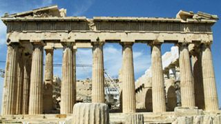 Parthenon - Akropolis in Athen