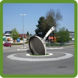 PFANNE im Kreisverkehr