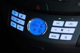 Temperatur im Auto 22 Grad