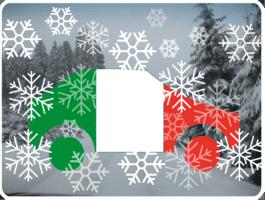 Winter Auto Italien