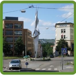 Kernerplatz Kreisel in Stuttgart