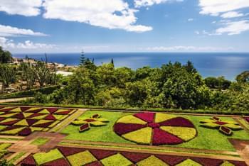Botanischer Garten in Monte Madeira