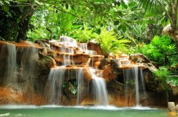 Heiße Quellen Costa Rica