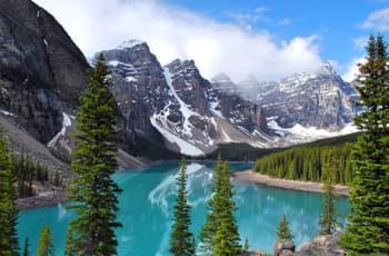 Moraine Lake in Kanada
