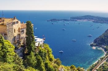 Èze an der Côte d'Azur