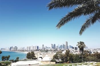 Blick auf Tel Aviv von Jafa aus