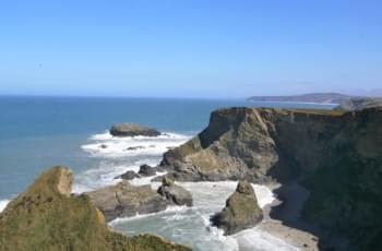 Steilklippen im Südwesten Cornwalls