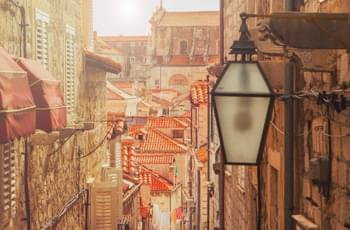 Straße in Dubrovnik