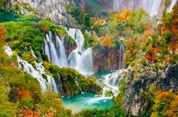 Nationalpark Plitvicer Seen Kroatien