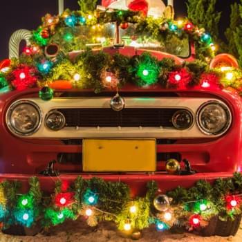 Weihnachtsdekoration im Auto: Das ist erlaubt