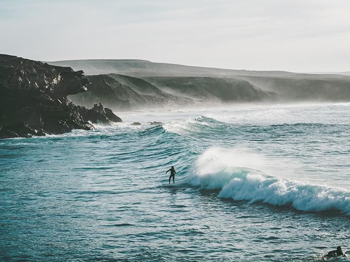Surfstrand von La Pared