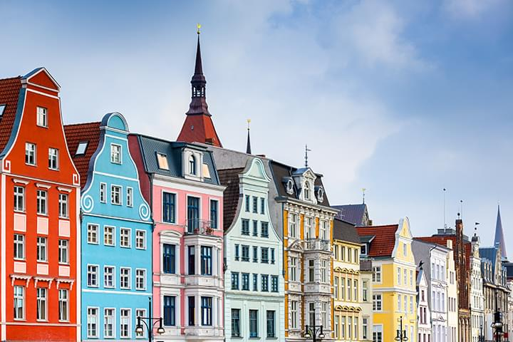 Bunte Häuser Altstadt Rostock