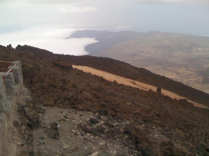Ausblick vom Pico del Teide