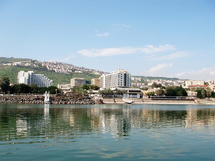 Die Stadt Tiberias
