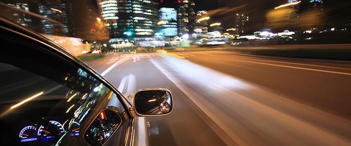 Stresssituation mit dem Auto: Lange Nachtfahrten