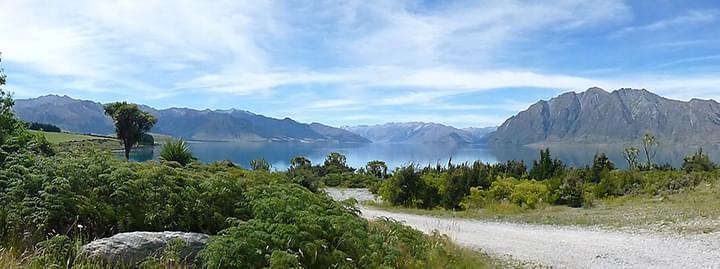 Panorama Lake Taupo