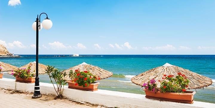 Spiaggia di Georgioupolis a Creta