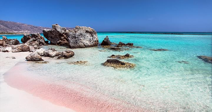 Strand in Elafonisi Kreta