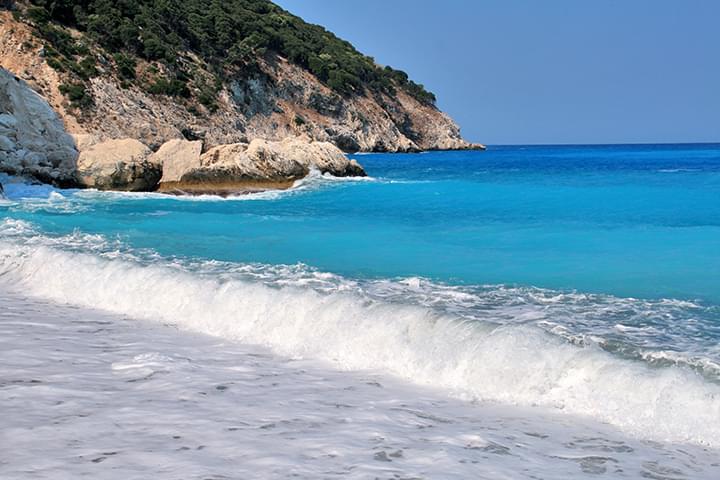Myrtos Beach Kefalonia Griechenland