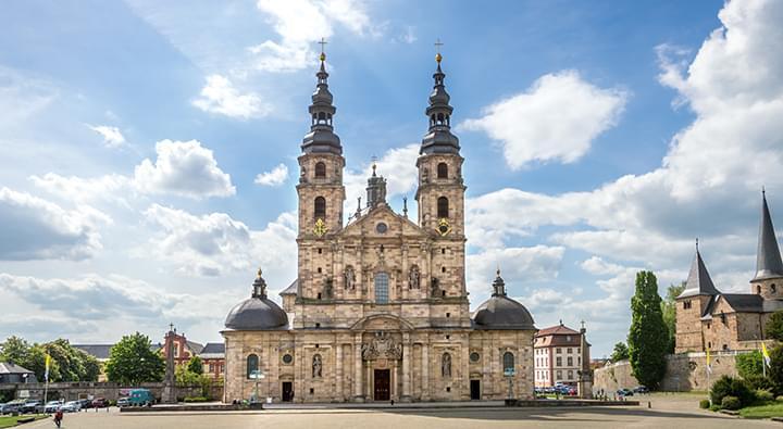 Kathedraal St. Salvatore Fulda