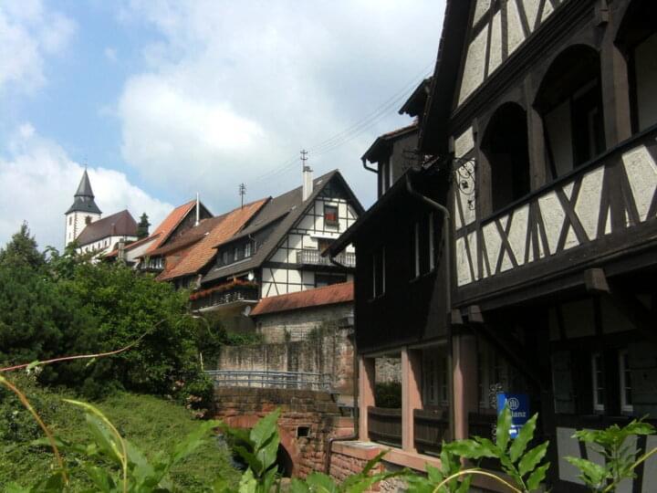 Fachwerkhäuser in Gernsbach