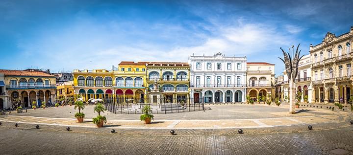 Plaza Vieja in Havanna - Kuba