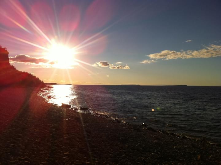 Sonnenuntergang am Ontariosee