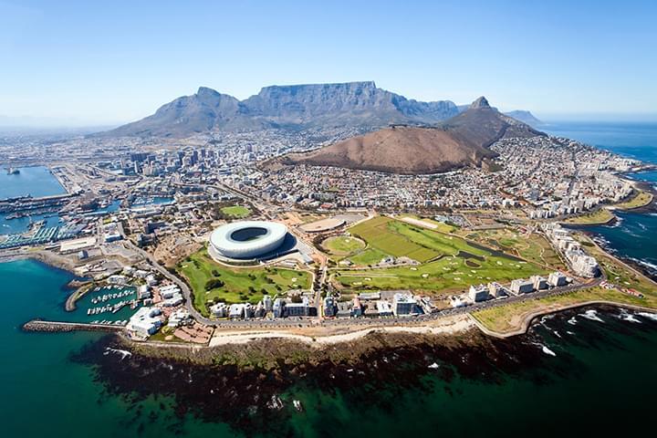 Blick auf Kapstadt Südafrika