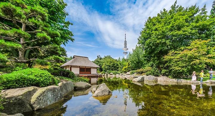 Jardin japonais à  Hambourg
