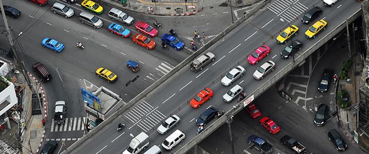 Stresssituation mit dem Auto: Überfüllte Innenstädte