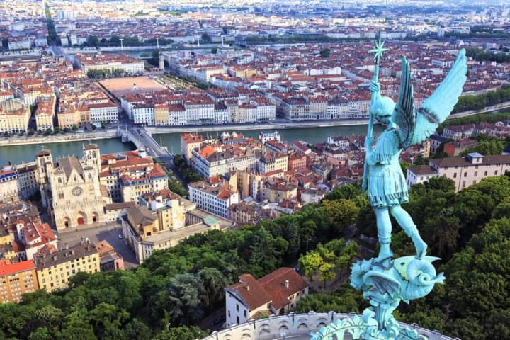 Lyon mit seinen Renaissance Palästen