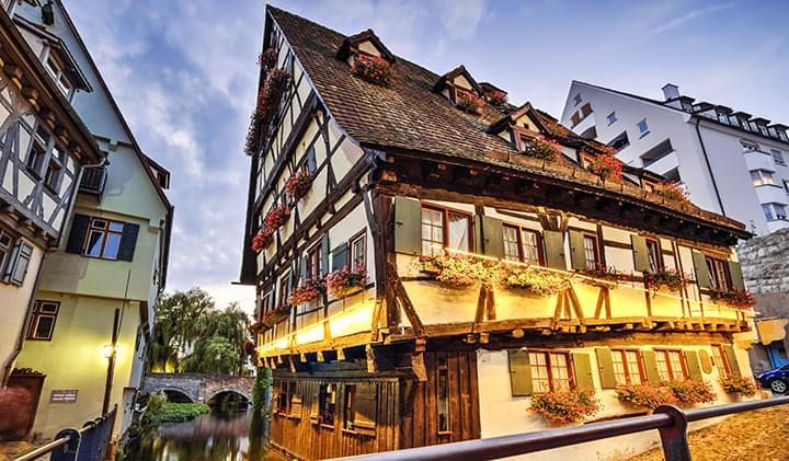 La vieja casa en Ulm