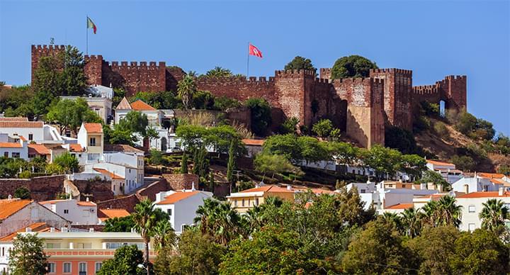 Burg von Silves Portugal