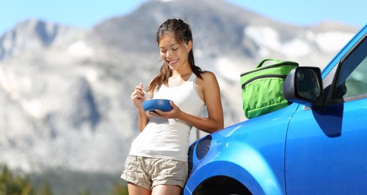 Snacks im Mietwagen: Leckere Rezepte für die Autofahrt