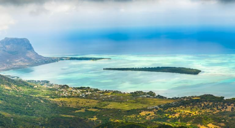 Panorama Mauritius, Afrika - Mietwagen Pointe aux Roches