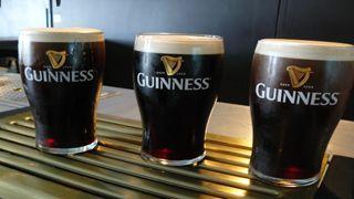 Darf bei keinem Dublin-Besuch fehlen: ein kühles Guinness
